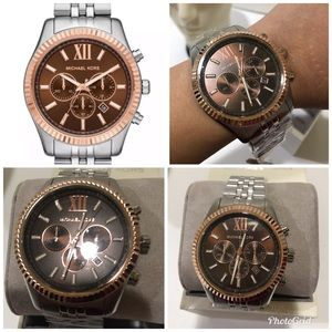 Michael Kors Men's Lexington Chronograph Stainless Boutique
